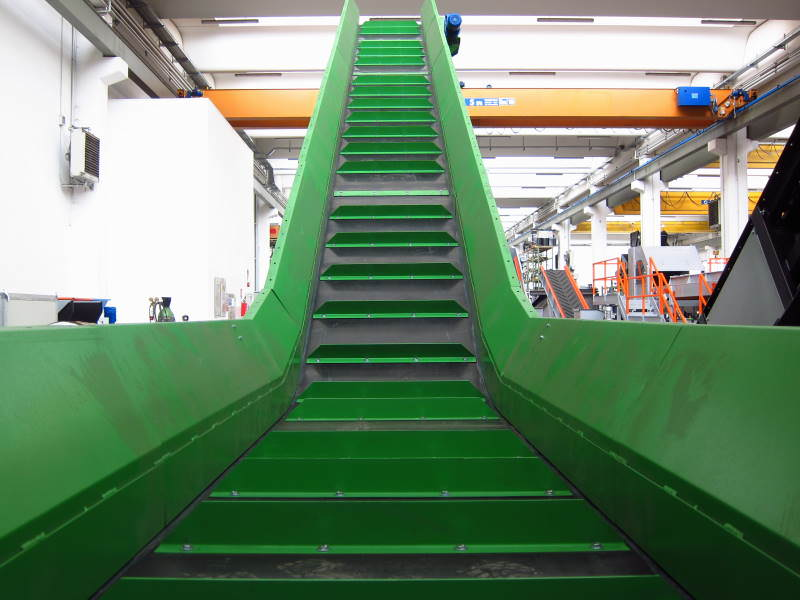 Metal conveyors with rubber cover NTMG