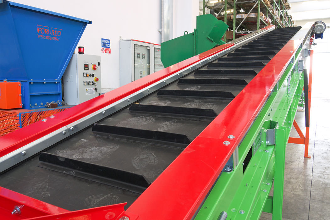 Rubber conveyors NG